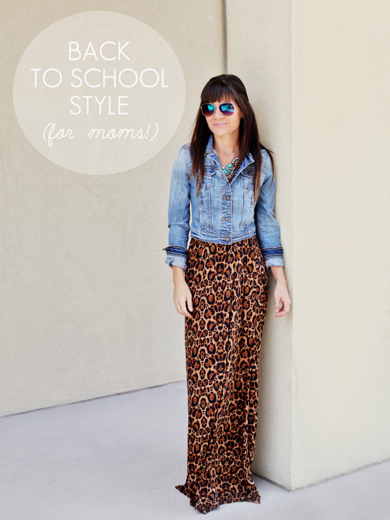 Back to School Style… for Busy Moms