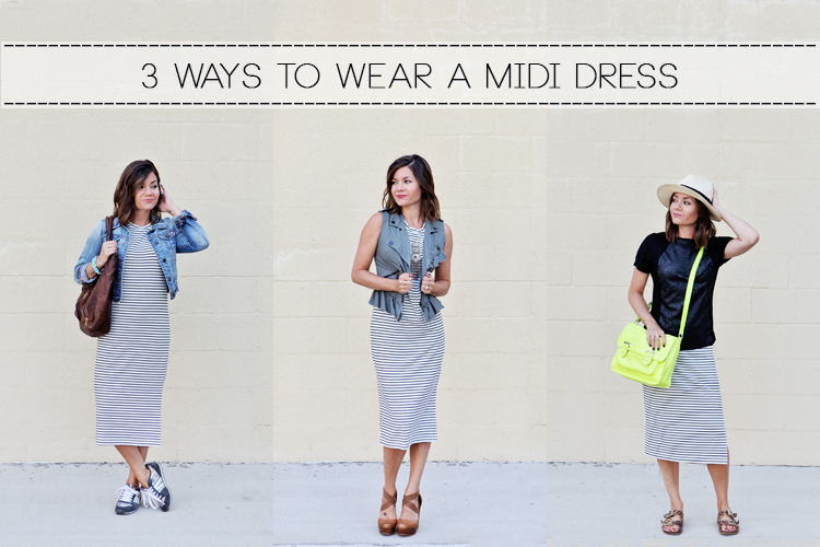 3 Ways to Wear a Midi Dress – A Jacksonville Moms Blog Feature