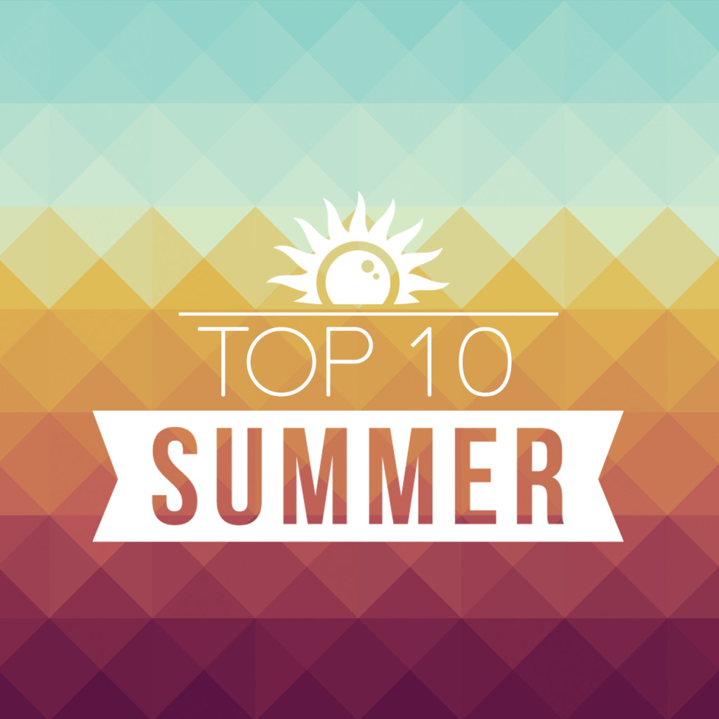 top 10 summer - instagram