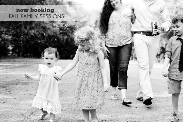 Now Booking – Fall Family Sessions