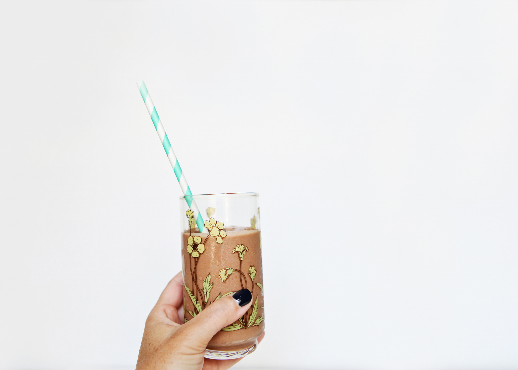 Chocolate Toasted Coconut Smoothie - Healthy Snacking